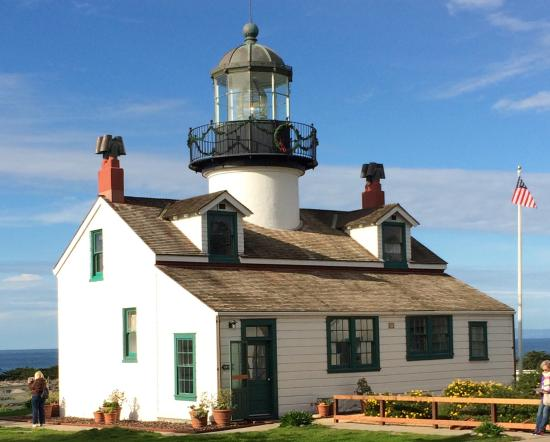 Historic Point Pinos Lighthouse in Pacific Grove Charms Visitors